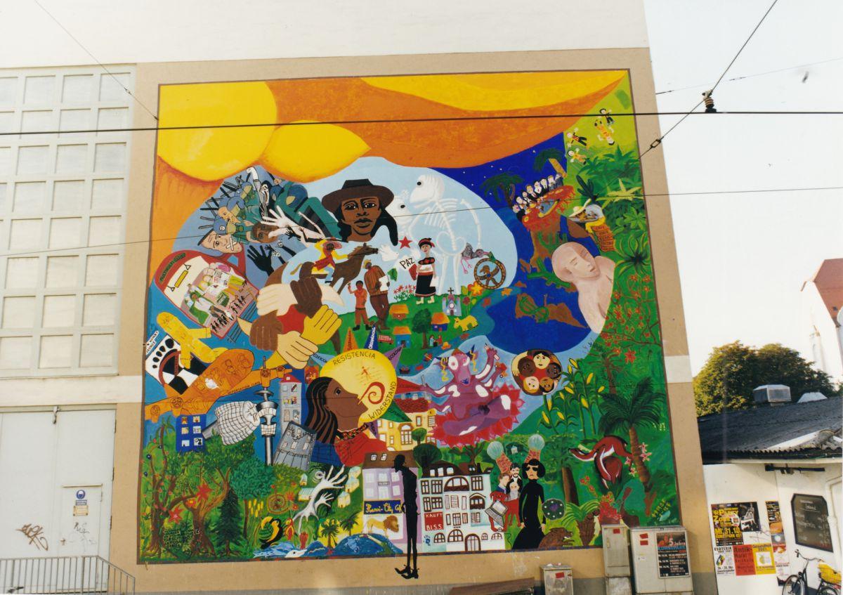 Wandbilder Okumenisches Buro Munchen